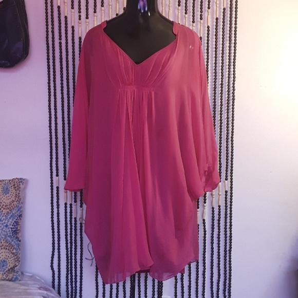 Diane Von Furstenberg Dresses & Skirts - Sheer DIANE von Furstenberg Dress